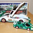 Hess 2009 Toy Race Car and Racer Mint Working Collectible With Box