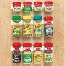 Spice Rack Storage Organizer It Organizes 12 Spice Jars Stick Anywhere