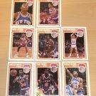 NY KNICKS 1989-90 Fleer Basketball Card Team Set Ewing Strickland Oakley
