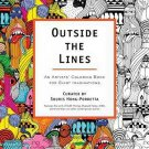 Outside the Lines An Artists Coloring Book for Giant Imaginations Souris Hong