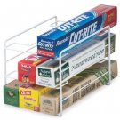 New Kitchen Wrap Rack Organizer, Use it in Your Pantry or In Your Cabinet