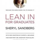 Lean In: For Graduates Hardcover by Sheryl Sandberg