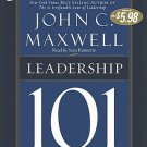 Leadership 101: What Every Leader Needs to Know Audiobook CD by John C. Maxwell