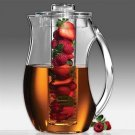 Prodyne Fruit Infusion 93 Ounce Natural Fruit Flavor Pitcher