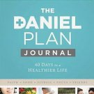 Daniel Plan Journal 40 Days to a Healthier Life (The Daniel Plan) by Rick Warren