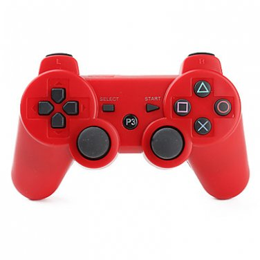 Red Wireless Controller for PS3