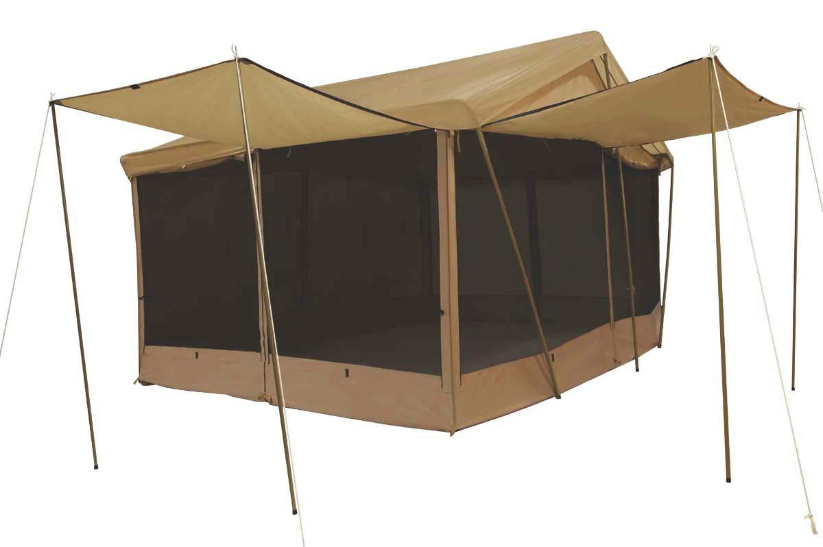 New Trek 8 Awnings 14 39 X 10 39 Canvas Screen House Tent