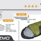 SPECIAL > 2 ZIP TOGETHER 0 DEGREE MUMMY SLEEPING BAGS (SET NEW) By HIGH PEAK FREE SHIP