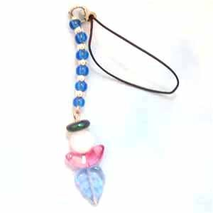 Blue Angel Cell Phone Dangle Handmade (JE149E)
