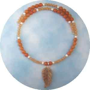 Red Aventurine Choker Necklace Handmade (JE133E)