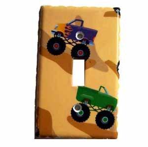 Children's Truck Design Light Switch Plate Cover (LS172E)