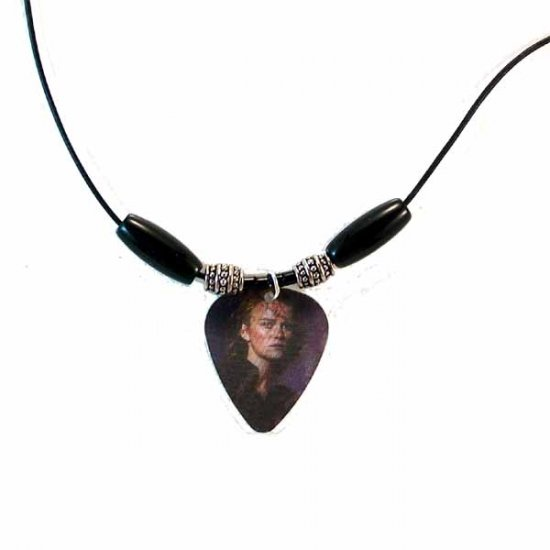 Elizabeth Swann Motion Guitar Pick Necklace (JE254)
