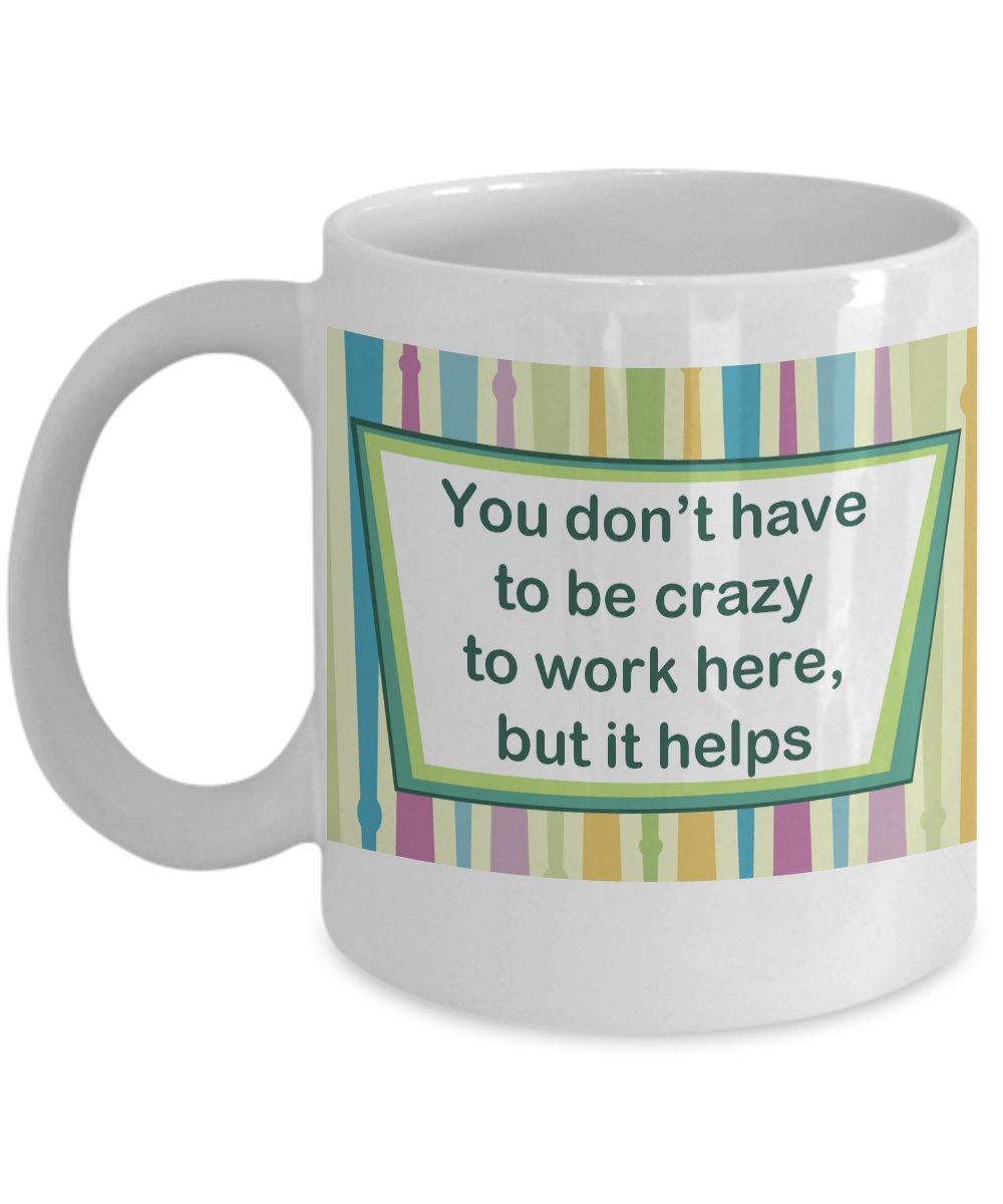 Crazy Work Mug - FREE Shipping!