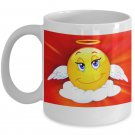 Angel Emoji - Funny Coffee Mug - FREE Shipping!