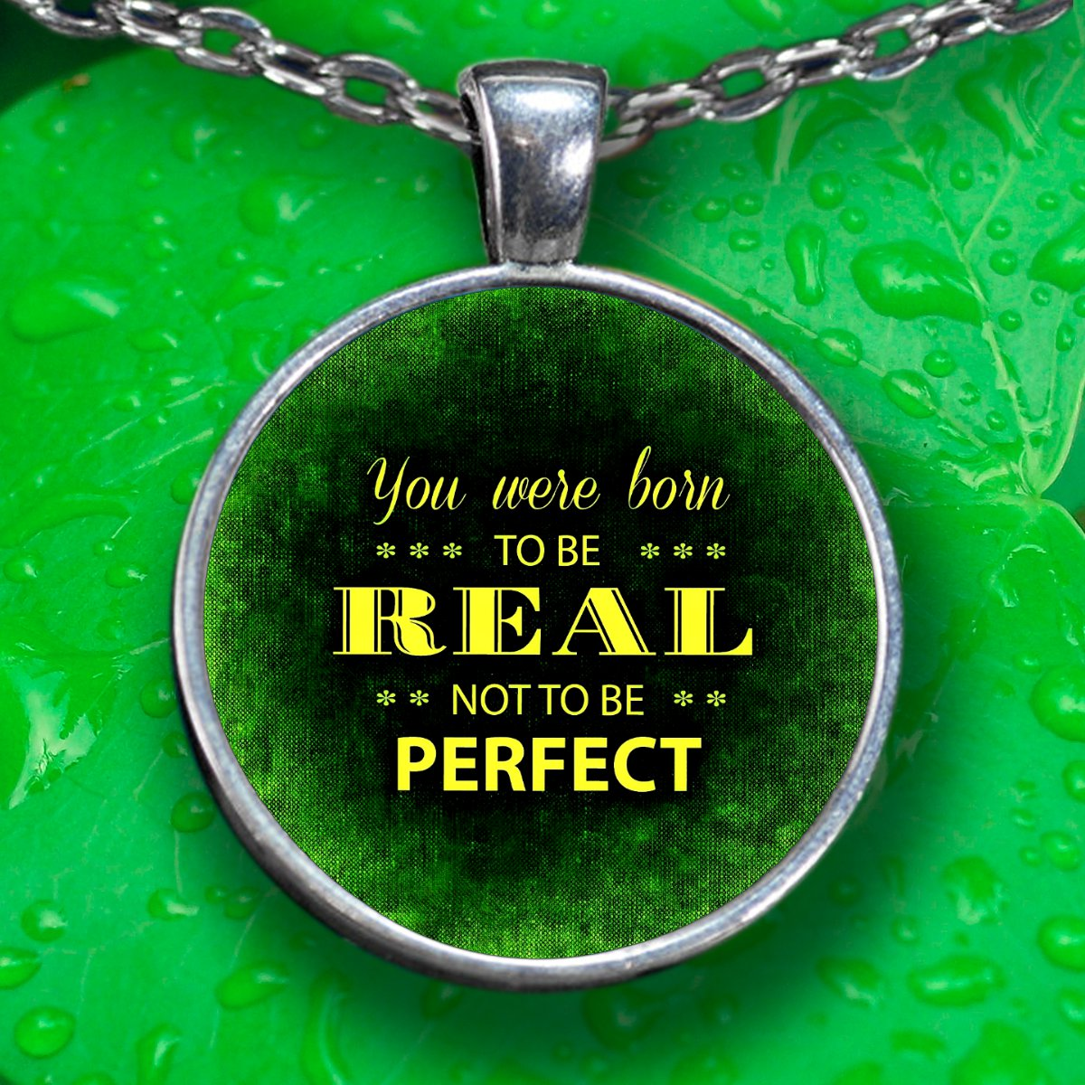 Perfect Pendant Necklace - Silver Plated - FREE Shipping!