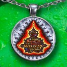 Creation Pendant Necklace - Silver Plated - FREE Shipping!
