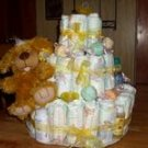 Themed 3 Tier Diaper Cake
