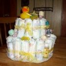 Themed 2 Tier Diaper Cake