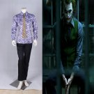 Cosplaydiy Men's Costume Batman Dark Knight Joker Hexagon Cosplay For Party