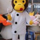 CosplayDiy Unisex Mascot Costume Monkey Cook Mascot Costume Cosplay For Cosplay Party