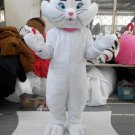 CosplayDiy Unisex Mascot Costume High Quality Adult Plush White Cat Mascot Costume Cosplay For Party