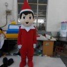 CosplayDiy Unisex Mascot Costume Elf On The Shelf Mascot Costume Cosplay For Christmas Party