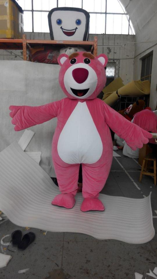 CosplayDiy Unisex Mascot Costume Lotso Huggin Bear Cosplay For Christmas Party