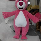 CosplayDiy Unisex Mascot Costume Lotso Huggin Bear Cosplay For Christmas Party