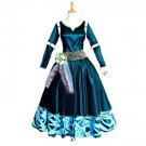 CosplayDiy Women's Dress Brave Merida Princess Dress Cosplay For Halloween Carnival Party