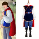 CosplayDiy Men's Outfit Snow White Prince Men's Costume Outfit For Christmas Cosplay