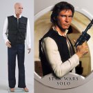 Cosplaydiy Men's Outfit Star Wars ANH A New Hope Han Solo Costume Movie Cosplay For Halloween