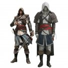 Custom Made Assassin's Creed IV 4 Black Flag Edward Kenway Outfit Cosplay