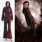 Cosplaydiy Women's Outfit Batman 3 The Dark Knight Rises Harley Quinn Uniform Cosplay For Party