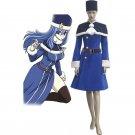 CosplayDiy Women's Dress Fairy Tail Rain Woman Juvia Lockser Blue Lolita Dress Cosplay