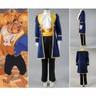 CosplayDiy Prince Costume Beauty and the Beast Prince Adam Costume Cosplay For Christmas Carnival