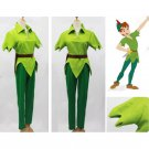 CosplayDiy Prince Costume Peter Pan Green Costume Outfit Cosplay For Christmas Party