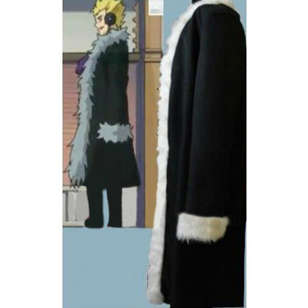CosplayDiy Men's Outfit Fairy Tail Laxus Dreyar Black Coat ...