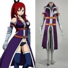 Custom Made Fairy Tail Elza Scarlet Outfit Cosplay Costume