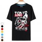 Men's Fashion Round Collar T-shirt Tokyo Ghoul Kaneki Ken Cosplay