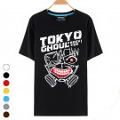 Cosplay Men's Fashion Round Collar T-shirt Tokyo Ghoul Kaneki Ken Costume