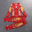 Kid's Iron Man Uderwear Sleepwear Costume Cosplay