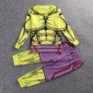 Kid's Spider Man Sleepwear Underwear Pajamas Costume Cosplay