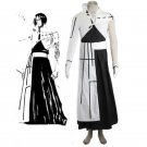 CosplayDiy Women's Outfit Bleach The Tercera Espada No.3 Tier Halibel Kimono Uniform Cosplay Costume