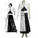CosplayDiy Women's Outfit Bleach The Tercera Espada No.3 Tier Halibel Kimono Uniform Cosplay Costume