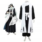 CosplayDiy Men's Bleach Gotei Thirteen Byakuya Kuchiki Captain of the 6th  Soul Reaper Cosplay