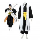 CosplayDiy Men's Bleach Gotei Thirteen Soi Fon Captain of the 2nd Division Soul Reaper Cosplay