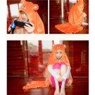 Himouto Umaru-chan Doma Umaru Hamster Cloak Cape Cosplay