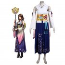 Custom Made Final Fantasy Yuna Cosplay Outfit Costume