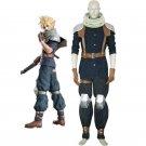 Custom Made Final Fantasy VII Crisis Core Cloud Strife Cosplay Costume