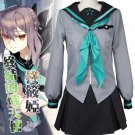 Custom Made Seraph of the End Hiiragi Shinoa Cosplay Costume